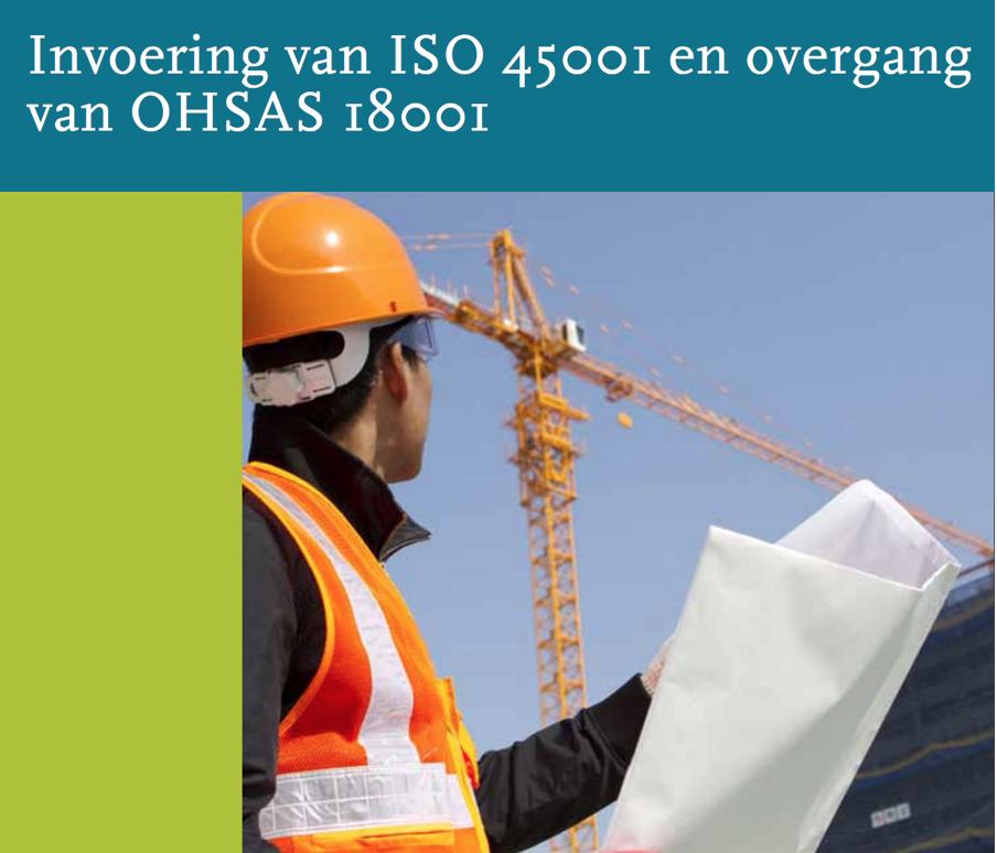 ISO 45001 verwacht in Maart